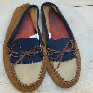 NWOT O'hanlon mills carragn kerry loafers slippers